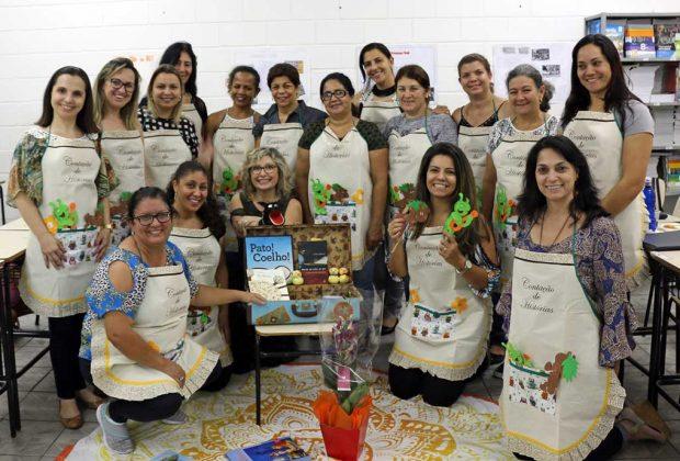 Educadores da Rede Municipal concluem curso de Contação de Histórias