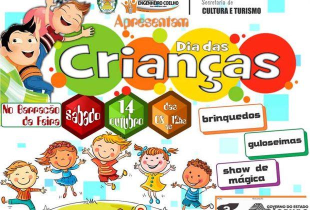 Engenheiro Coelho promove festa em homenagem ao Dia das Crianças