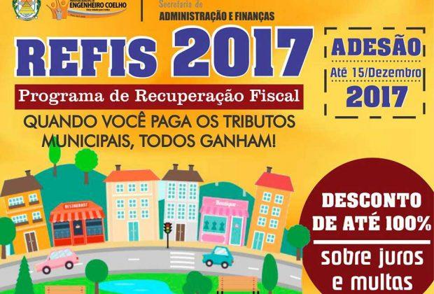 Prefeitura de Engenheiro Coelho prorroga o prazo para adesão ao REFIS