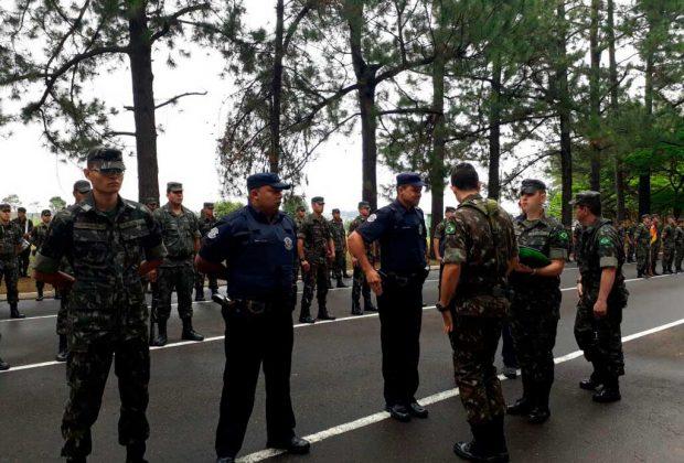 """GM de Jaguariúna participa de treinamento para """"Armeiros"""" em Batalhão do Exército"""