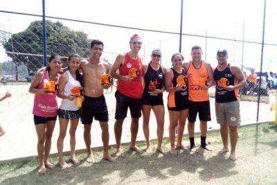 Cidade é primeira colocada de Torneio de Vôlei de Praia