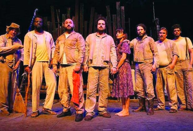 Sexta e sábado, peça Sobre Homens e Ratos é a grande atração no Teatro Municipal