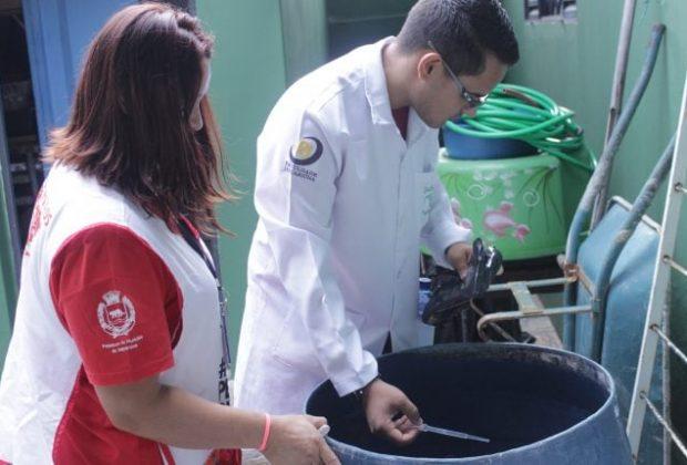 Mutirão da Dengue visita 335 casas no Capotuna