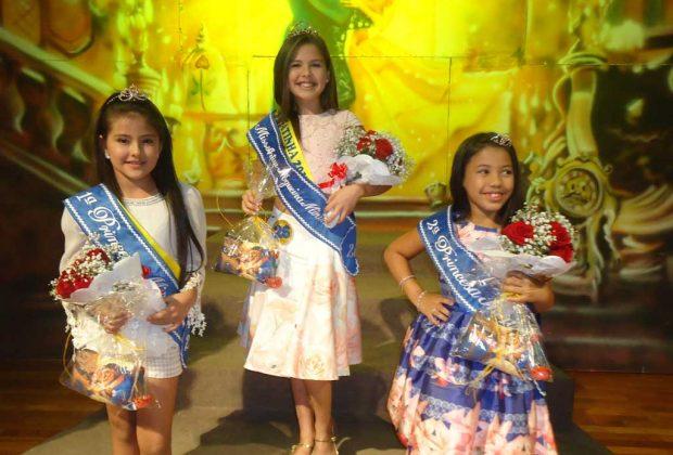 Concurso elege Marina Ferreira de Almeida Miss Artur Nogueira Mirim 2017