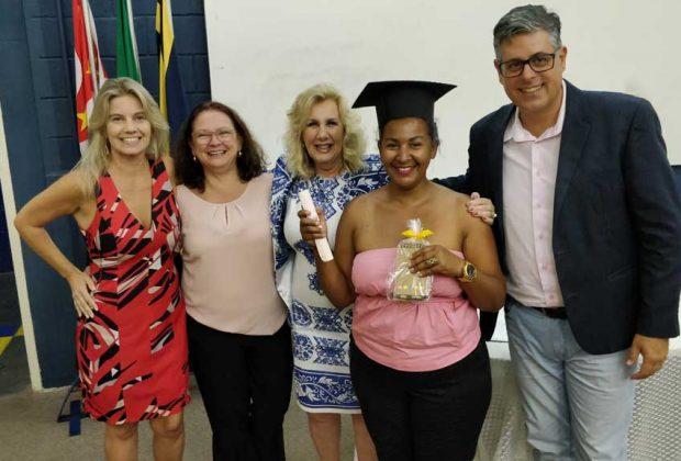 90 alunos recebem certificados de formação em cursos de inclusão produtiva