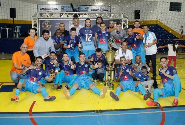 "Napoli conquista título inédito da ""Taça de Ouro"" do futsal amador"