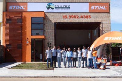 Em parceria com a Stihl, Equilíbrio inaugura loja em Holambra