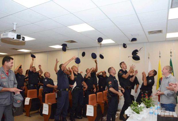 Guardas Municipais de três cidades concluem treinamento