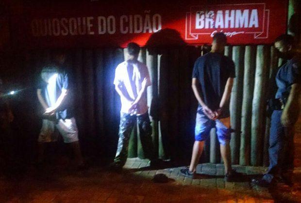 Três são detidos após pichar Terminal Rodoviário de Jaguariúna