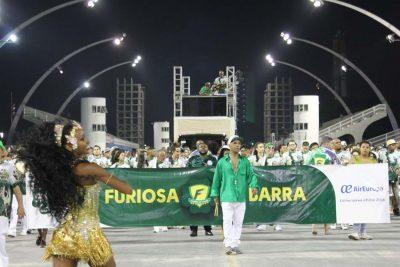 Liga SP deu início aos ensaios técnicos nesta noite de 5 de janeiro, no Sambódromo do Anhembi, em São Paulo