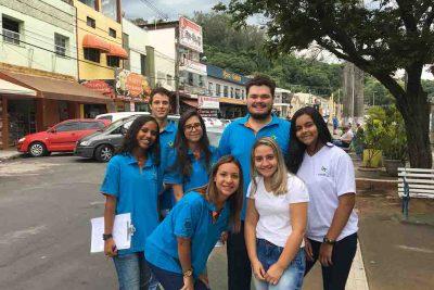 Projeto Cidadania realiza pesquisa com os turistas que visitam Pedreira