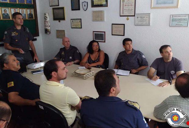 26° Batalhão da Polícia Militar realiza Reunião de Segurança Pública Regional