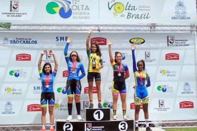 Guaçuana é bicampeã da Volta do Futuro de Ciclismo