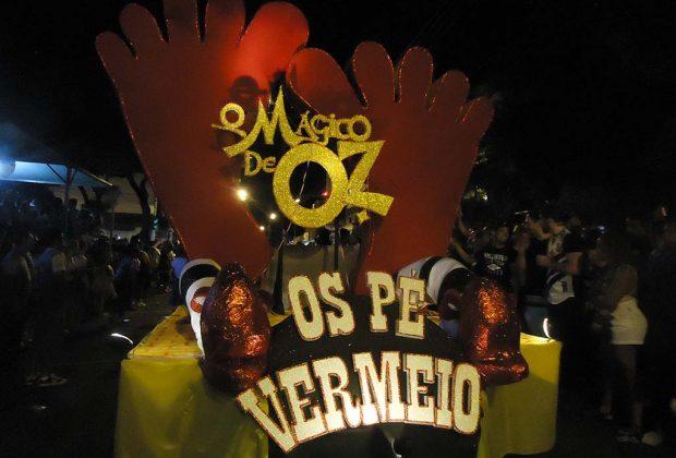 Público do Carnartur supera a marca de 100 mil pessoas em cinco noites