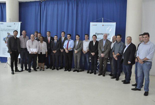 Prefeito de Pedreira participa de eleição de novos Presidente e Vice-presidente do Conselho de Desenvolvimento Metropolitano
