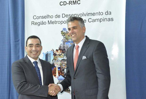 Prefeitos Benjamim Bill e Gustavo Reis são eleitos Presidente e Vice-presidente do Conselho de Desenvolvimento Metropolitano
