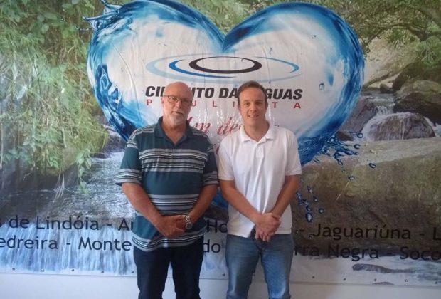 Secretário de Amparo e diretor de Pedreira foram eleitos presidente e vice-presidente da Câmara de Esportes do Circuito das Águas Paulista