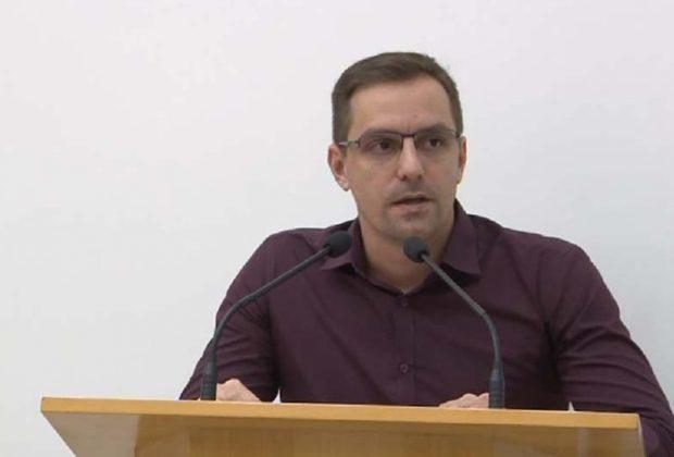 Vereador Lucas Simioni propõe criação de banco de ideais Legislativas