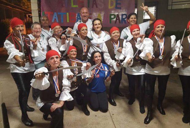 A Melhor Idade de Amparo participou da 22ª edição dos Jogos Regionais do Idoso, que ocorreu em Limeira de 14 a 18 de março.