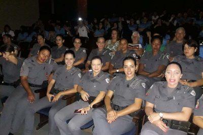 Batalhão da Polícia Militar faz homenagem as mulheres