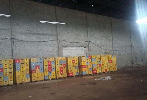 Quadrilha é presa em flagrante por roubo de carga de bebida em Jaguariúna