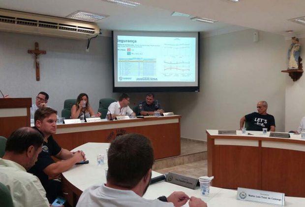 Conseg realiza reunião para discutir temas de segurança