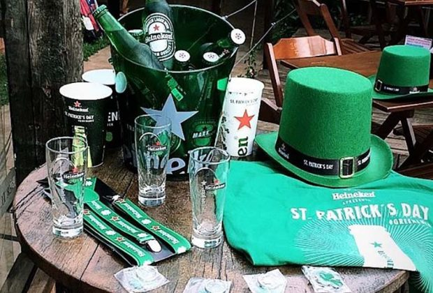 St. Patrick´s Day tem promoção de cervejas e brindes especiais