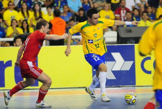 Jogo das Estrelas, em Jaguariúna, terá presença do craque Falcão, astro do futsal