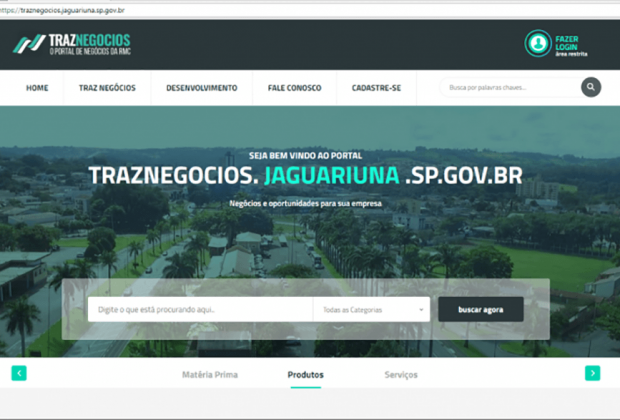 "Portal ""Traz Negócios"" incrementa economia local"