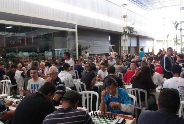 Etapa do Circuito Solidário de Xadrez foi um sucesso