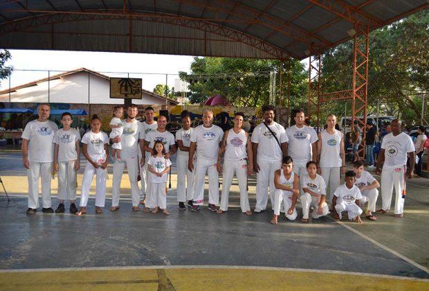 Capoeiristas de Pedreira estarão disputando os Jogos Itinerantes de Aparecida