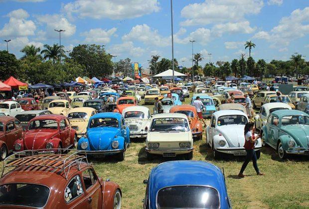 Com apoio da Prefeitura, ACAJ realiza 13ª Edição do Encontro dos Amigos do Carro Antigo de Jaguariúna