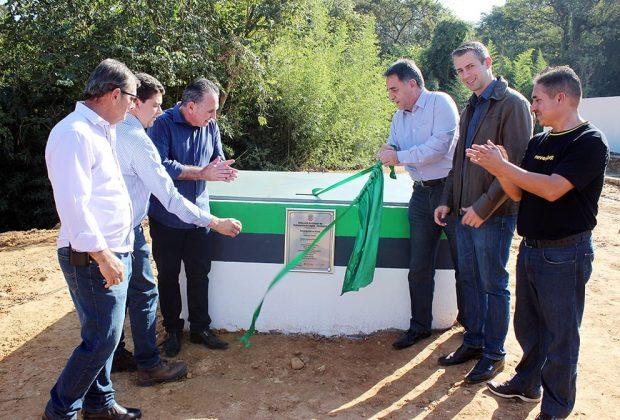 Holambra inaugura emissário da Estação de Tratamento de Esgoto