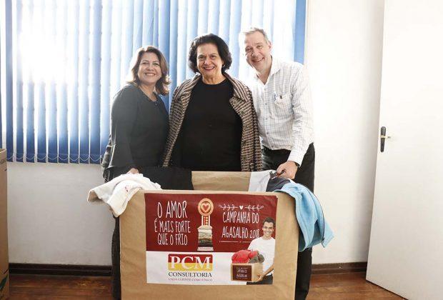 Fundo Social de Jaguariúna recebe doação de roupas de uma empresa da cidade