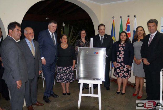 OAB inaugura sala da Caasp e entrega carteira para novos advogados em Artur Nogueira