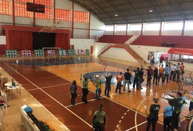 Pedreira sediou etapa do Campeonato de Tiro com Arco Indoor