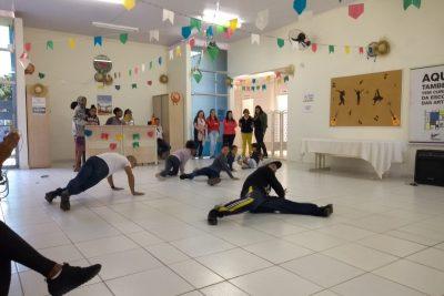Em parceria, Cras Nassif e Escola das Artes promovem oficina de Dança de Rua
