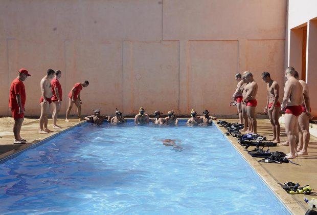 Bombeiros iniciam segunda turma do curso de mergulho