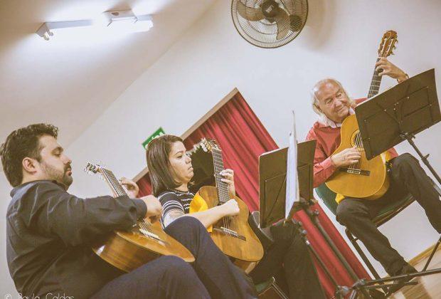 Violões Artes Trio na UNASP em Engenheiro Coelho
