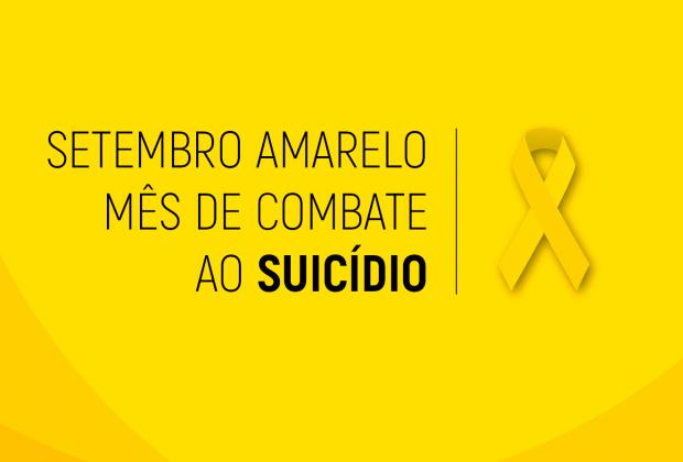 """""""Posse Amarela: Todos a favor da vida"""", visa conscientizar sobre prevenção do suicídio"""