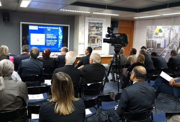 Prefeitos discutem resíduos da saúde em reunião do Conselho de Desenvolvimento da RMC