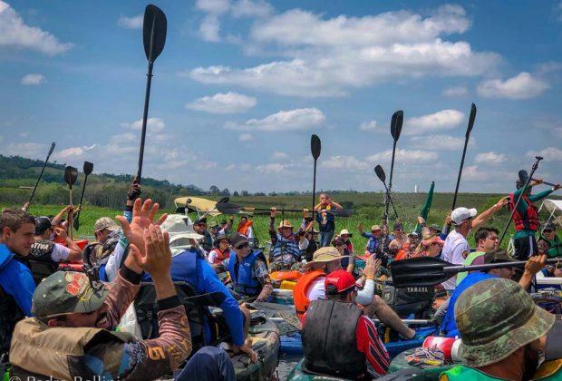 2ª Canoata reúne mais de 200 participantes no Rio Manso