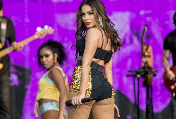 Anitta chega a Campinas para apresentação no Expo D. Pedro