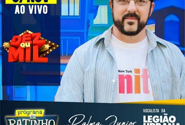 Legião Urbana Cover-SP participará ao vivo no Programa do Ratinho