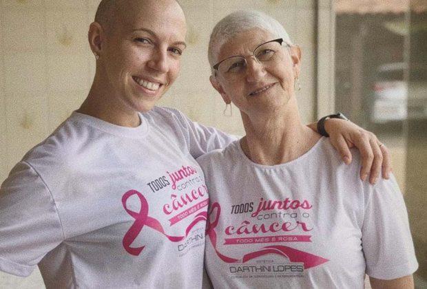 Outubro Rosa: Mãe e filha lutam contra a doença e alertam para a prevenção
