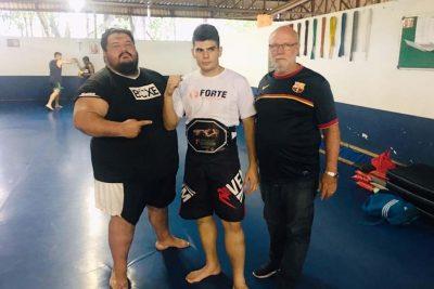 Pedreirense é Campeão de Muay Thai em Joanópolis