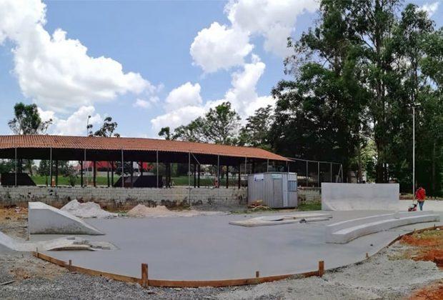 Iniciadas obras de construção de pista de skate no Centro