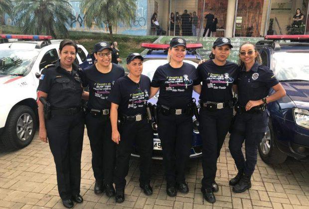 """Jaguariúna mostra sua """"Patrulha Maria da Penha"""" no 1° Encontro de Guardas Municipais Femininas"""