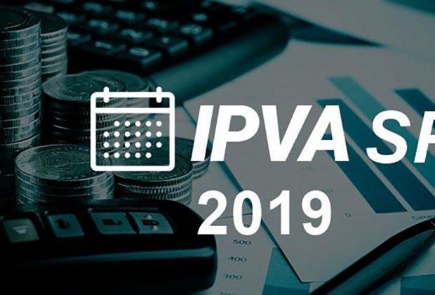 Secretaria da Fazenda do Estado divulga calendário do IPVA 2019