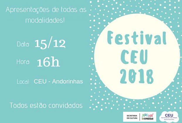 Festival do CEU 2018 traz apresentações esportivas e culturais nesta sexta-feira (14)